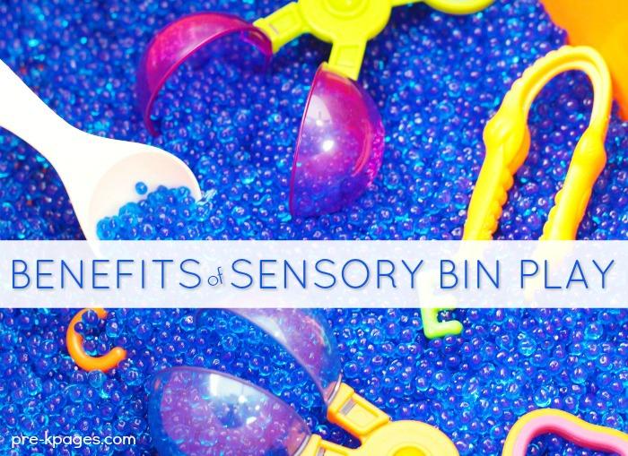 Benefits of Sensory Bin Play in Preschool