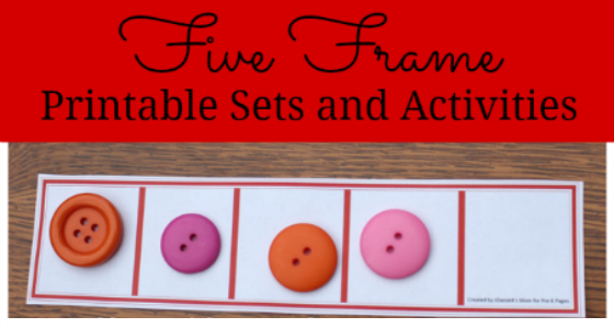 Five Frames Activities for Preschool