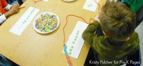 Froot Loop Necklace for 100th Day