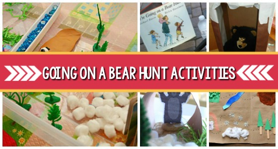 Going on a Bear Hunt Activities for Preschool
