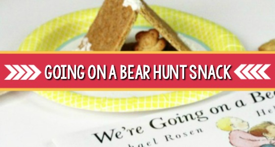 Going on a Bear Hunt Snack for Preschool