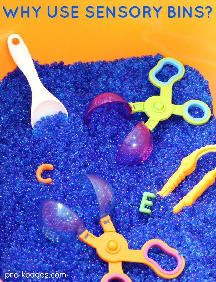 Importance of Using Sensory Bins in Preschool