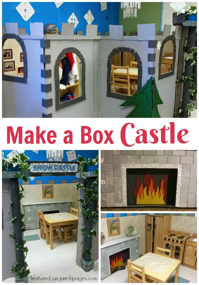 How to Make a Castle from a box