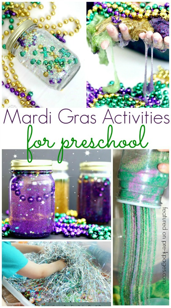 Mardi Gras Activities for Preschool