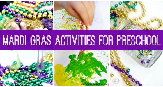 Mardi Gras Crafts And Activities for Kids