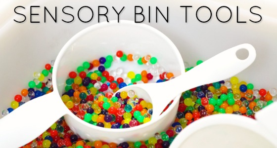 Sensory Bin Tools for Sensory Play in Preschool