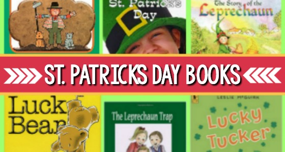 St Patricks Day Book List