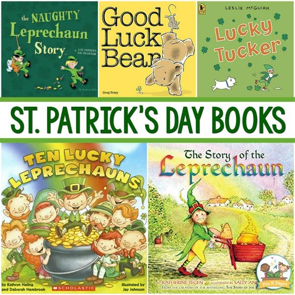 St Patrick's Day Books for pre-K
