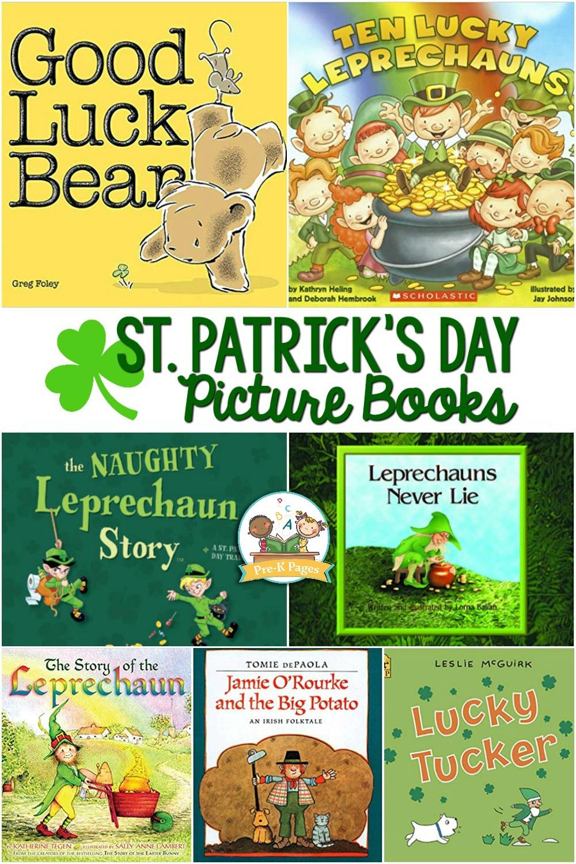 St Patricks Day Books for preschoolers