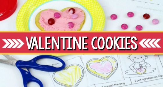 Valentine Cookie Decorating Printable