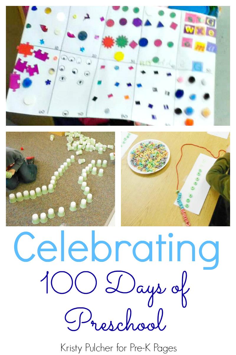 celebrating 100 days preschool