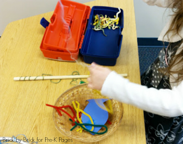fishing dramatic play