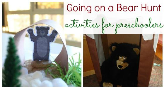 Going on a Bear Hunt Activities for Preschool