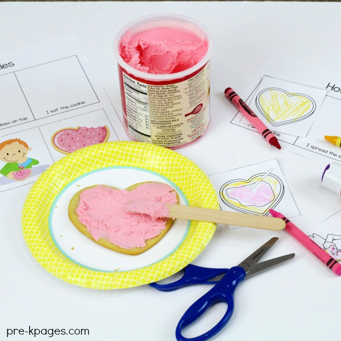 Printable Picture Sequence How to Decorate Cookies