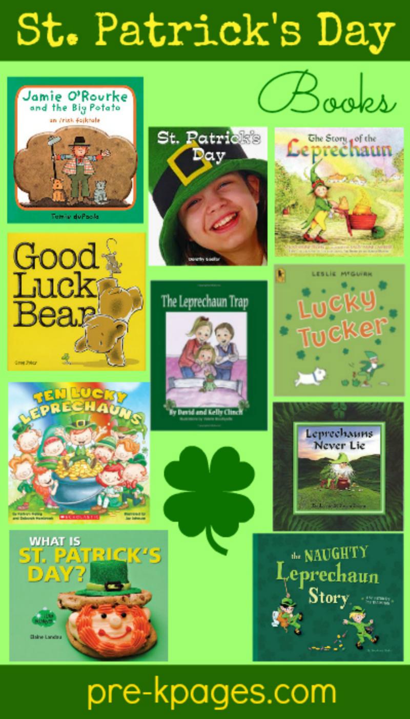 st patricks day books for preschool
