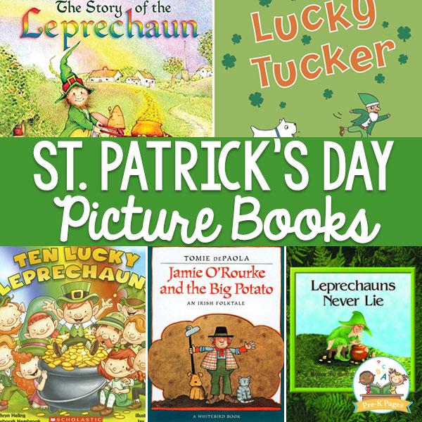 St Patrick's Day Picture Books