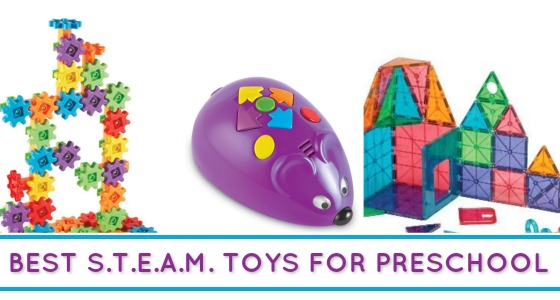 Best STEAM Toys For Preschoolers