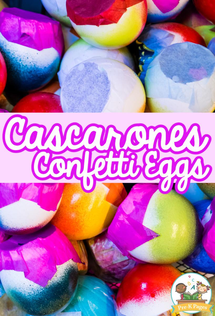 Cascarones Confetti Eggs for Easter