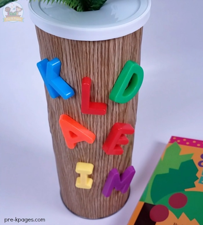 Chicka Chicka Boom Boom Magnetic Letter Tree
