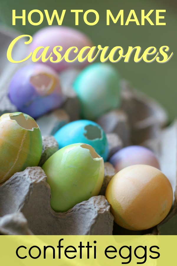 How to Make Cascarones Confetti Eggs for Easter