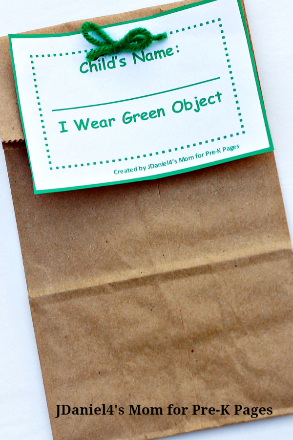mystery bags for preschool
