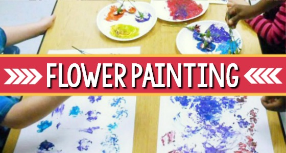 Flower Painting Activity