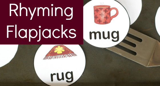Rhyming Flapjacks Game