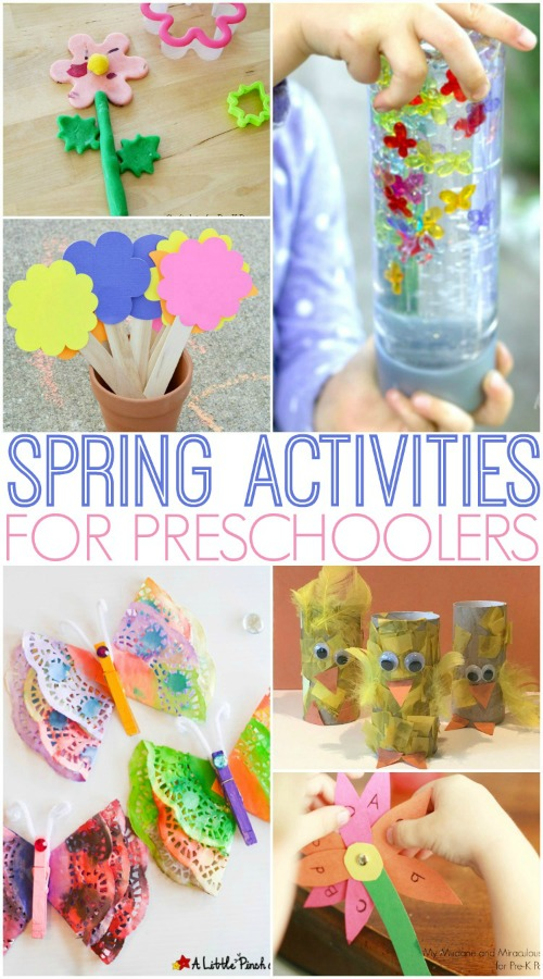 Spring Activities For Preschoolers Pre K Pages