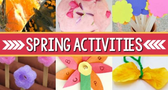 Spring Activities For Preschoolers Pre K Pages