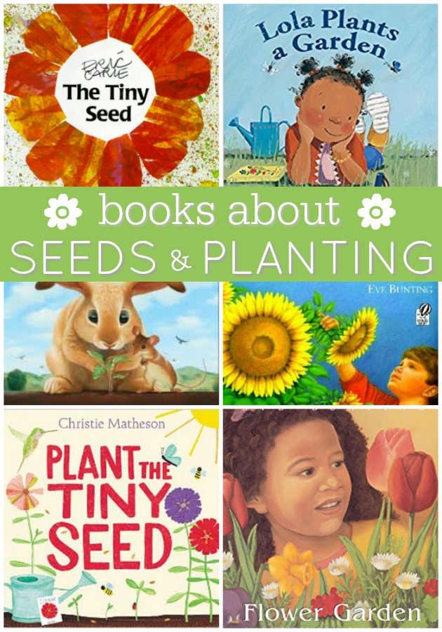 Books About Seeds and Planting for Preschool