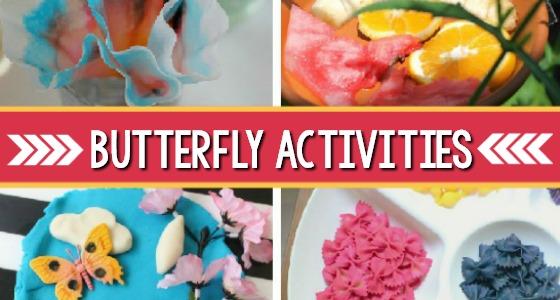 Butterfly Activities for Preschoolers