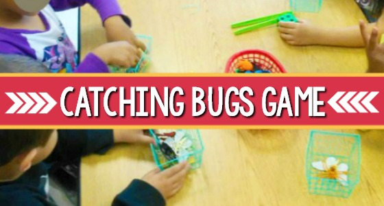 Catching Bugs Counting Game For Preschoolers