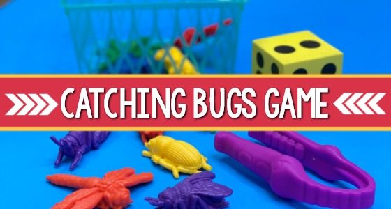 Catching Bugs Game for Preschool