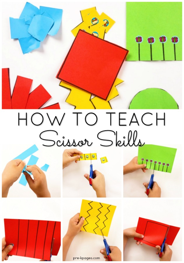 photo about Free Printable Cutting Activities for Preschoolers known as How in direction of Practice Small children in the direction of Slash with Scissors within Preschool