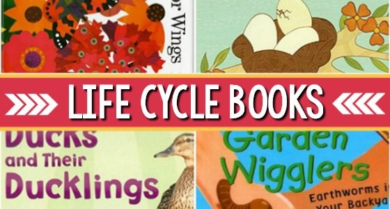 Life Cycle Books for Preschool