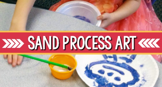 Spring Sand Painting For Preschoolers