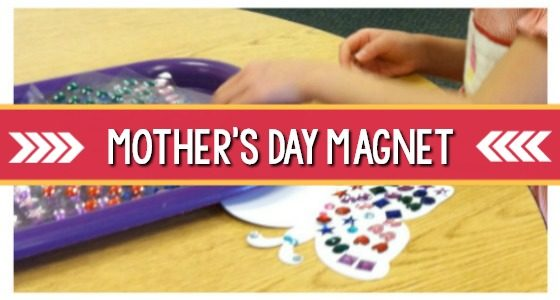 Decorative Magnet Gift for Mother's Day