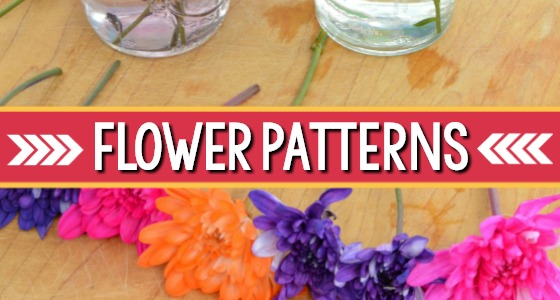 Flower Pattern Activity For Preschool
