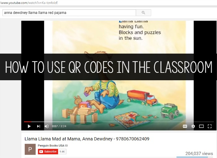 How to Use QR Codes in the Classroom to Watch YouTube