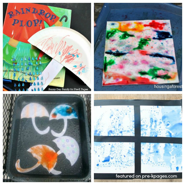 Rain Activities For Preschoolers Pre K Pages