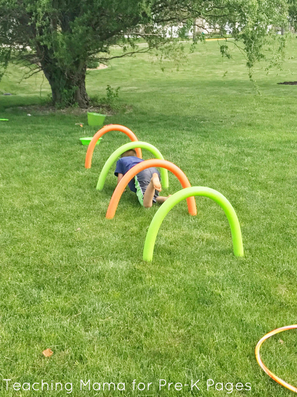 spring obstacle course preschool