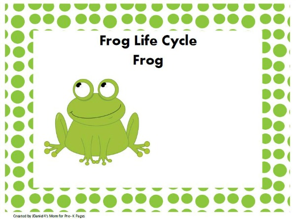 frog play dough activity pre-k