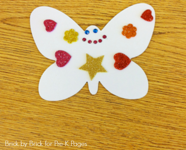 magnet butterfly gift mothers day