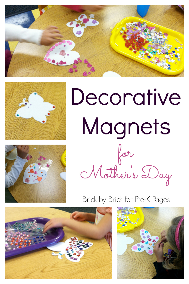 magnet gifts for mothers day for preschool