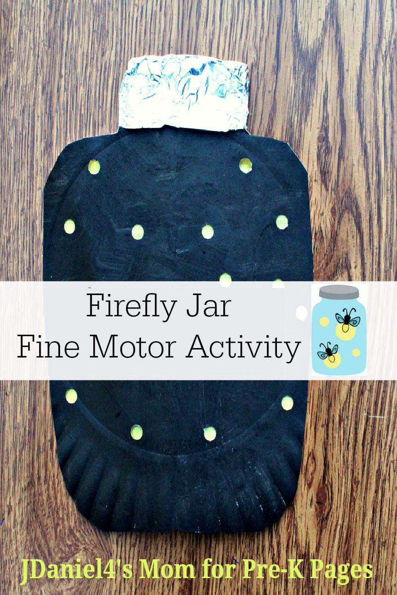 firefly fine motor art preschool