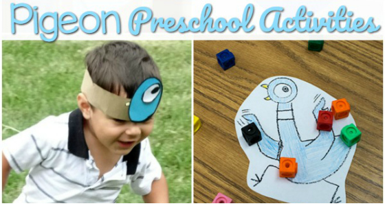 Pigeon Activities for Preschoolers