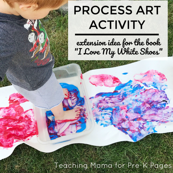 Pete the Cat Art Activity for preschool