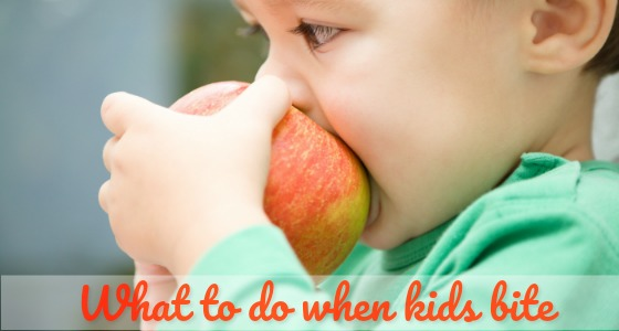 What to Do About Biting in Preschool?