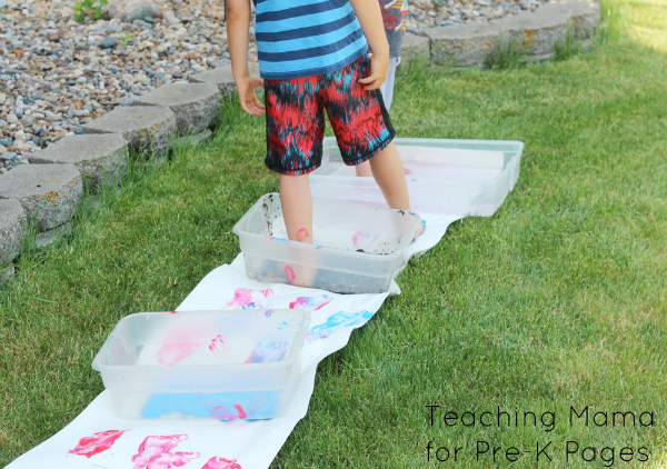 Pete the Cat White Shoes art activity