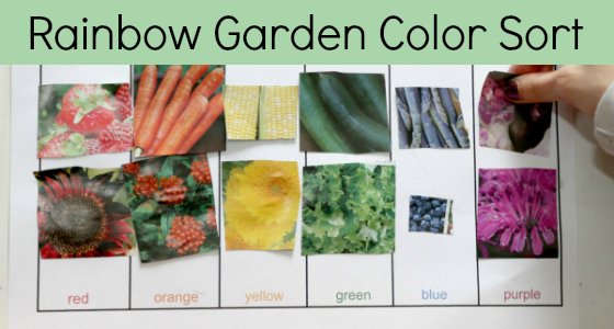 Planting a Rainbow Color Sort